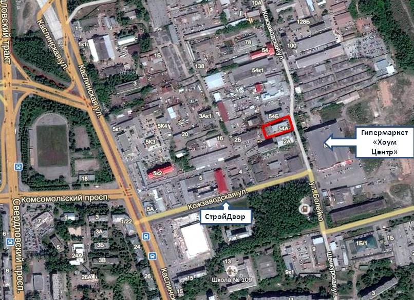 Кожзаводская Карта_