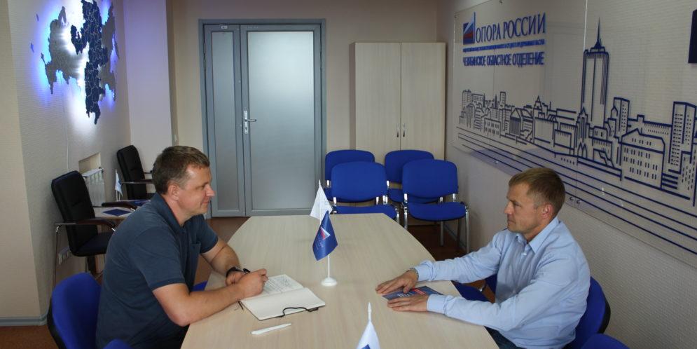 Президент «ОПОРЫ РОССИИ» побывал с рабочим визитом в Челябинской области